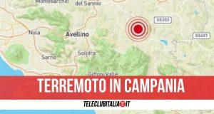 scossa terremoto 15 maggio sant'angelo dei lombardi