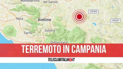 Campania, tremano due province: scossa di terremoto nel pomeriggio