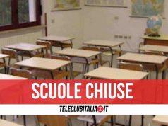 scuole chiuse mondragone