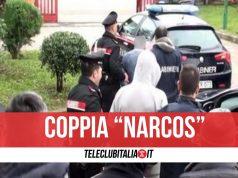 solofra coppia narcos arrestati coniugi droga
