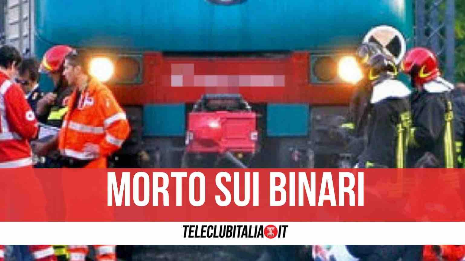 cadavere treno roma napoli