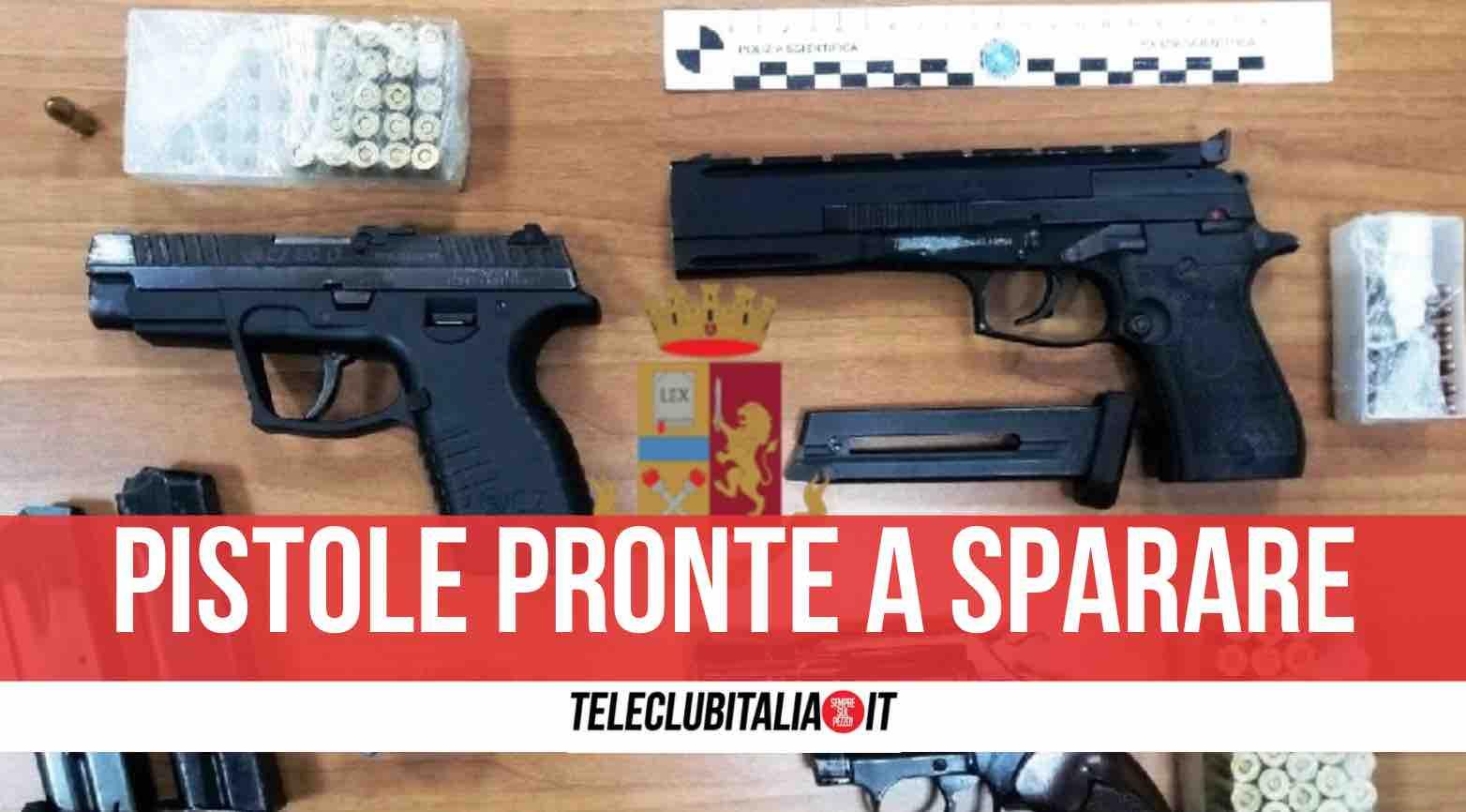 sequestro armi polizia miano