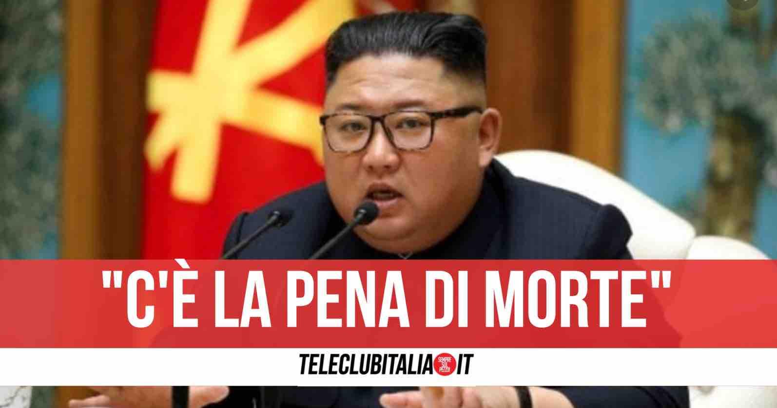 kim jong un pena di morte