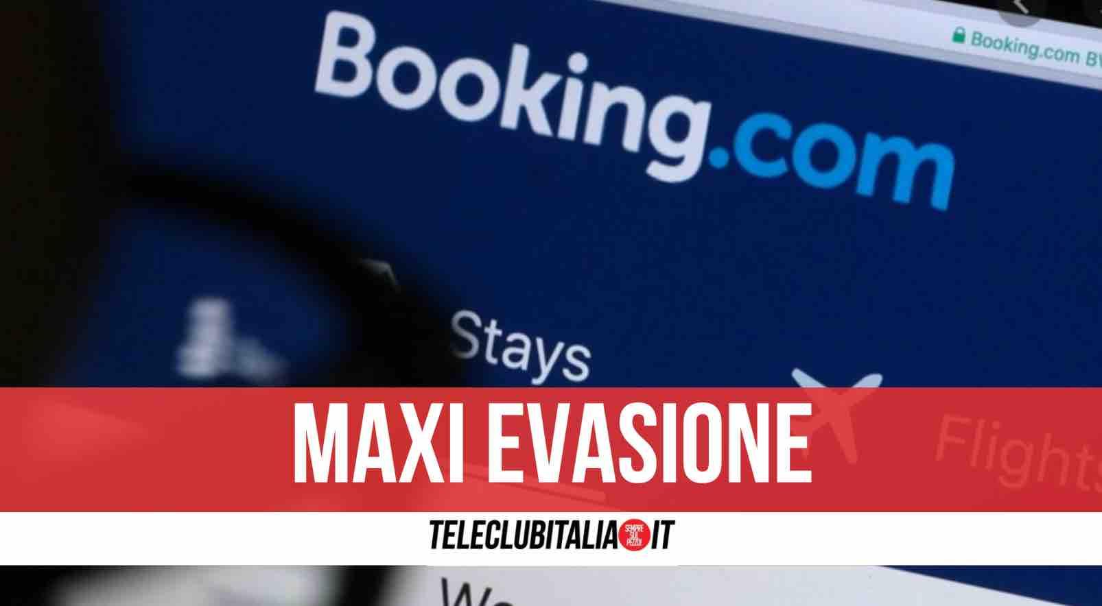 booking evasione 150 milioni