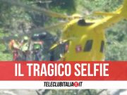 selfie belen cascate patrizia pepè