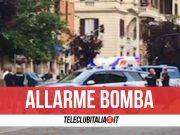 allarme bomba roma