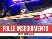napoli inseguimento polizia