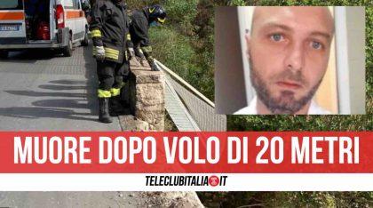 Sicilia, sfonda il muretto con l'auto e precipita per oltre 20 metri: nulla da fare per Mauro