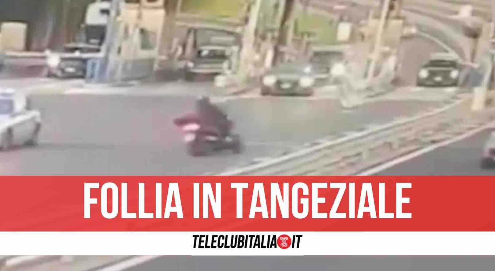 pozzuoli tangenziale corsa moto