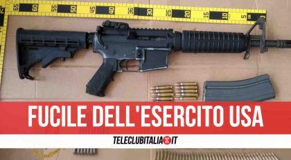 Napoli, blitz della Polizia: trovato fucile mitragliatore pronto a sparare