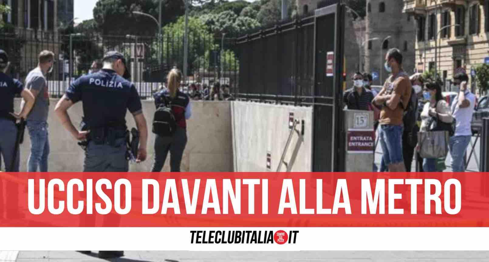 omicidio roma ucciso a coltellate