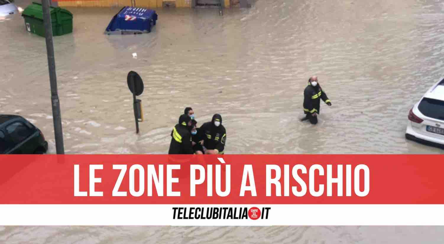 meteo alluvioni italia