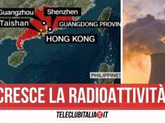 allarme nucleare cina crescita radioattività