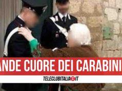 anziana afragola carabinieri