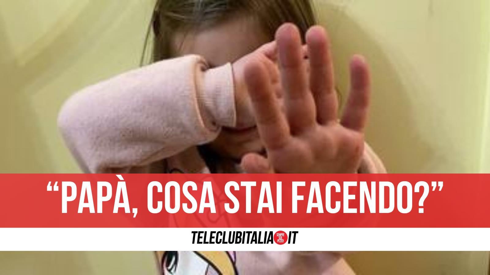 arrestato brescia pedofilo figlia filma abusi