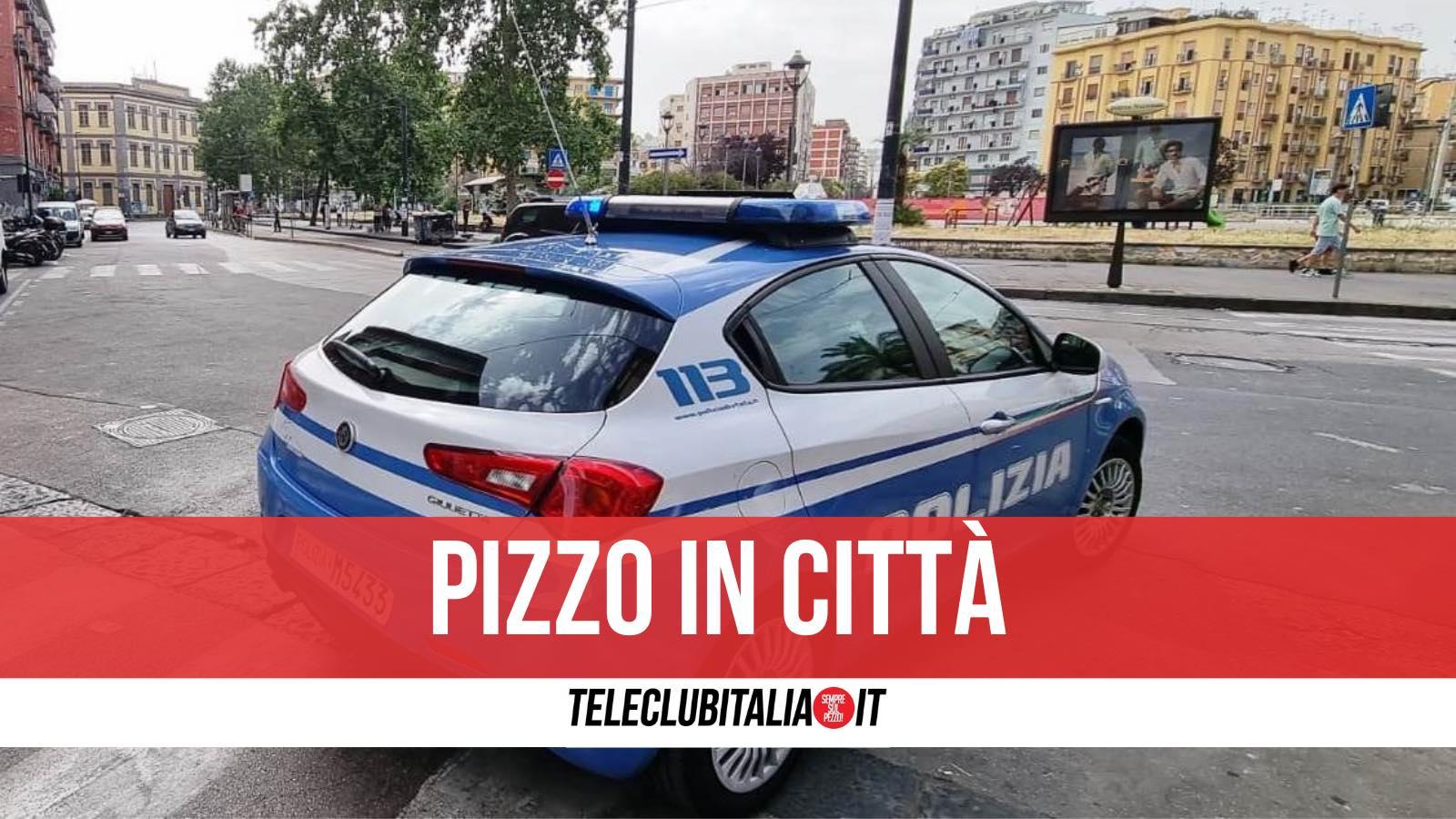 arrestato estorsore napoli piazza nazionale