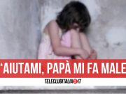capua abusata padre arrestato