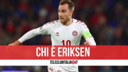 Chi è Eriksen, il calciatore colpito da malore durante gli Europei: età, altezza, moglie, stipendio