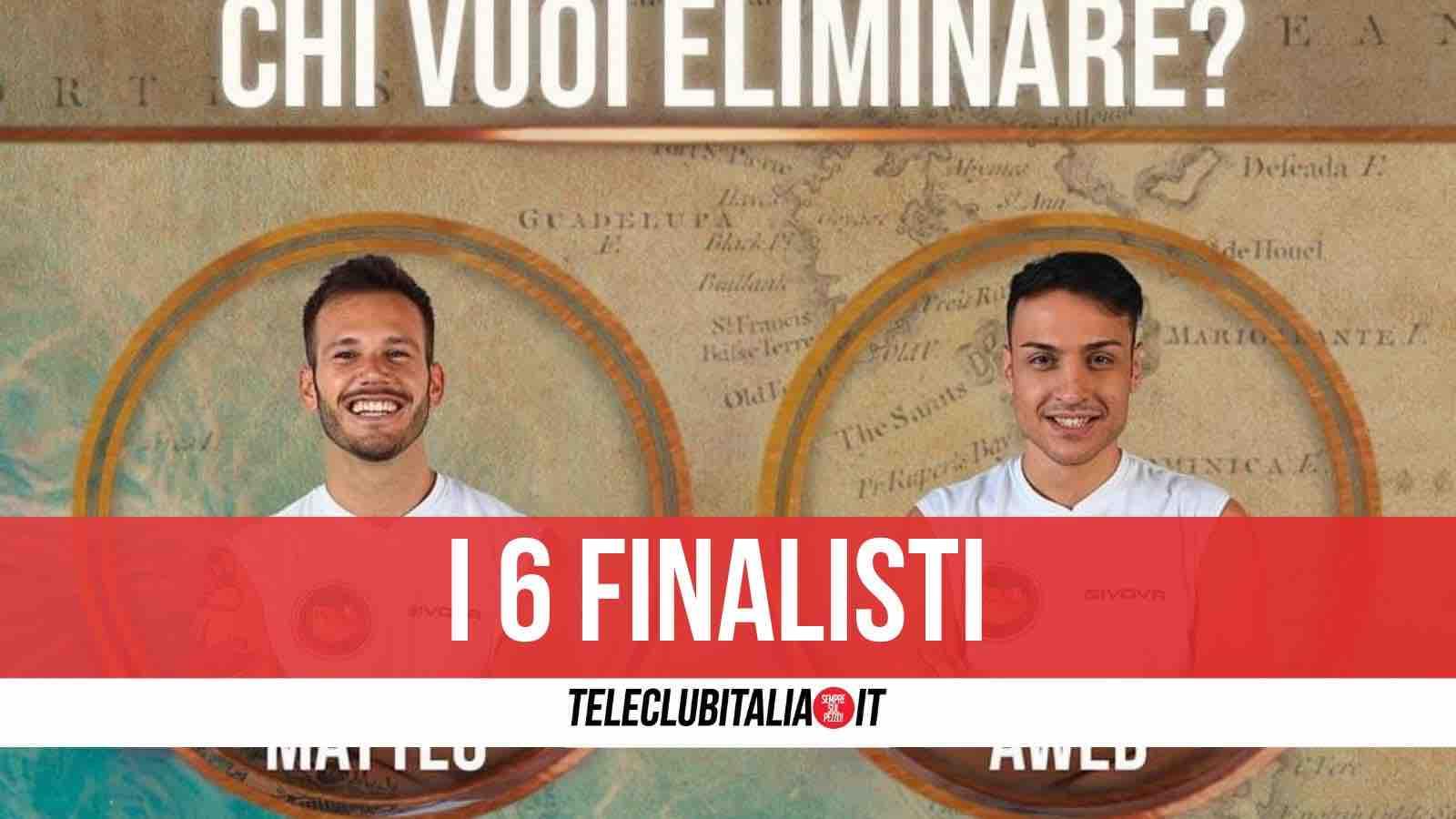 finalisti isola dei famosi