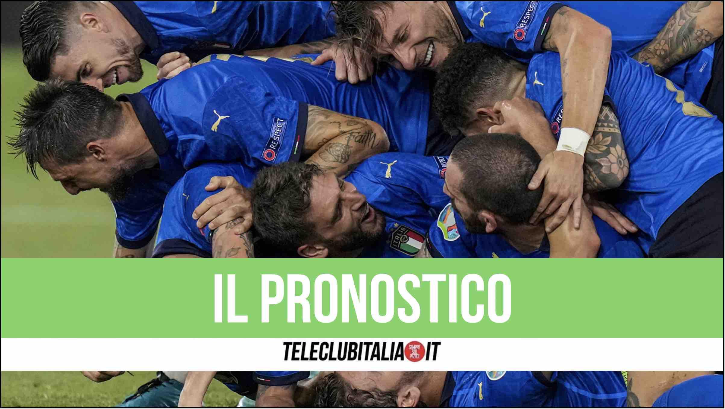 italia pronostico italia austria europeo