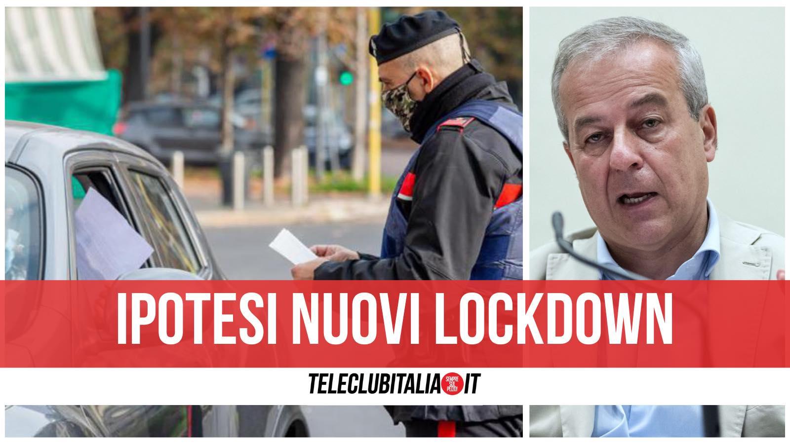 lockdown possibili locatelli iss