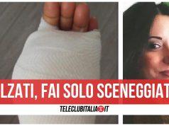 marianna napolitano vicenda roma ferita mano