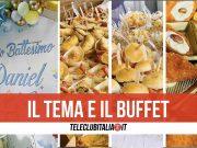party sweet chocolate buffet tema