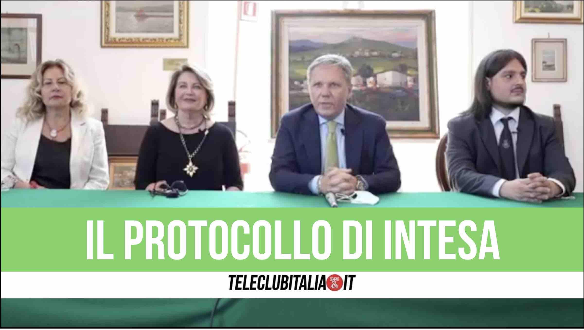 protocollo intesa asl napoli 2 nord unesco federico secondo