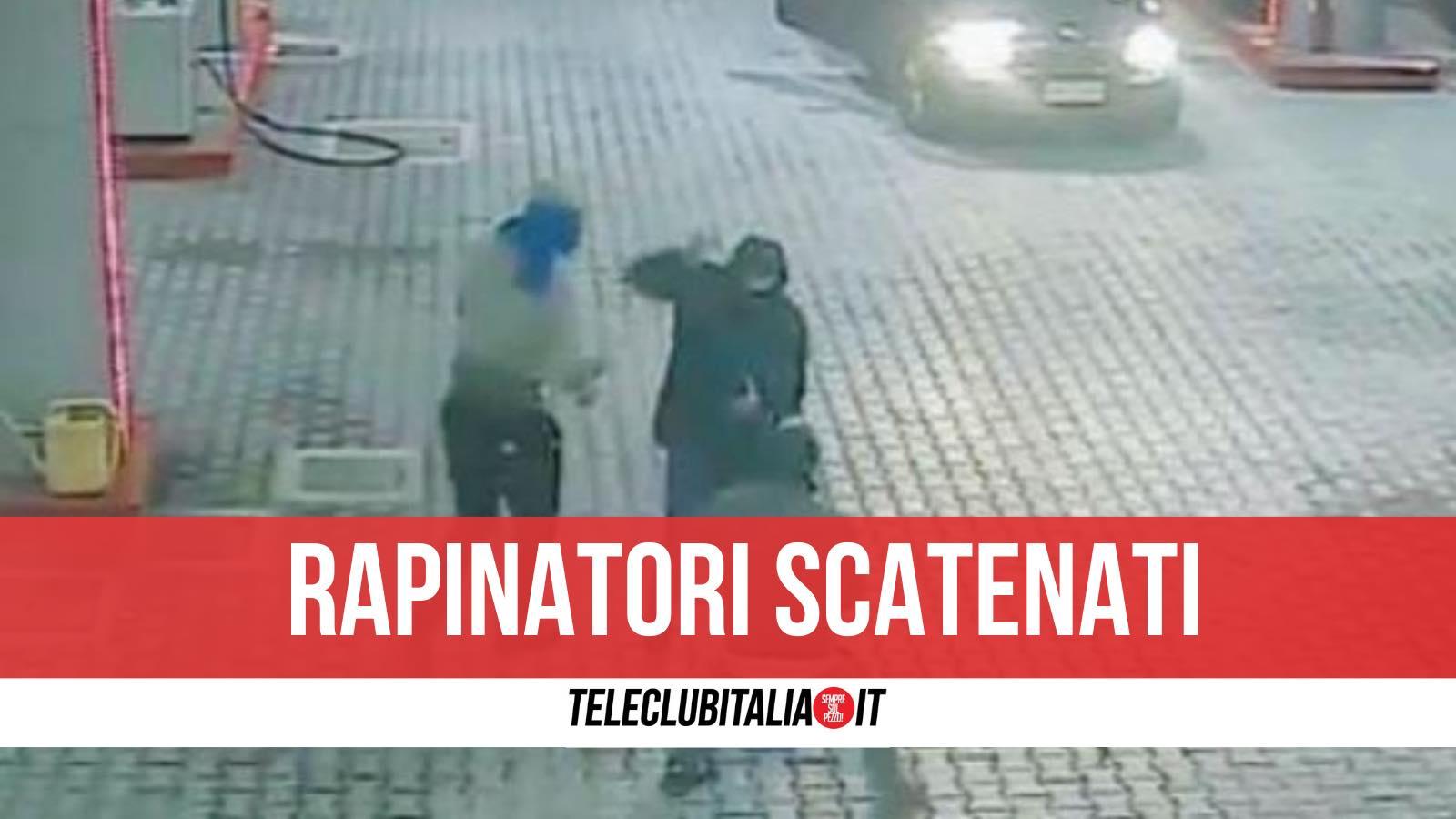 rapinatori arrestati giugliano