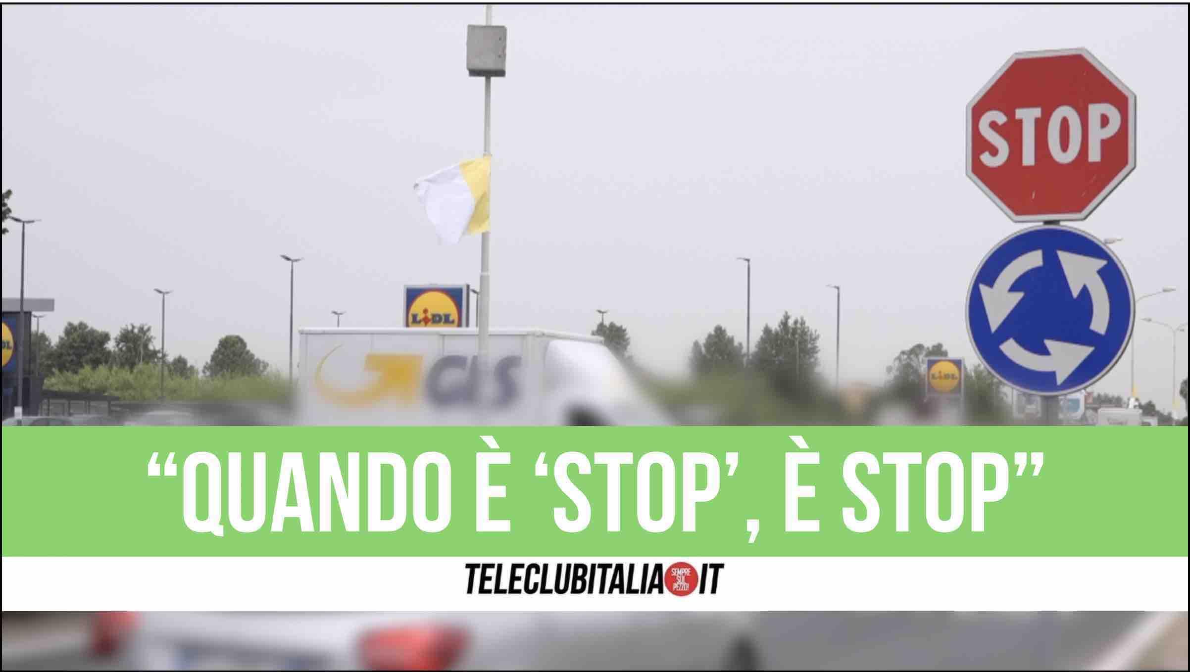 stop giugliano franco zampini viabilità