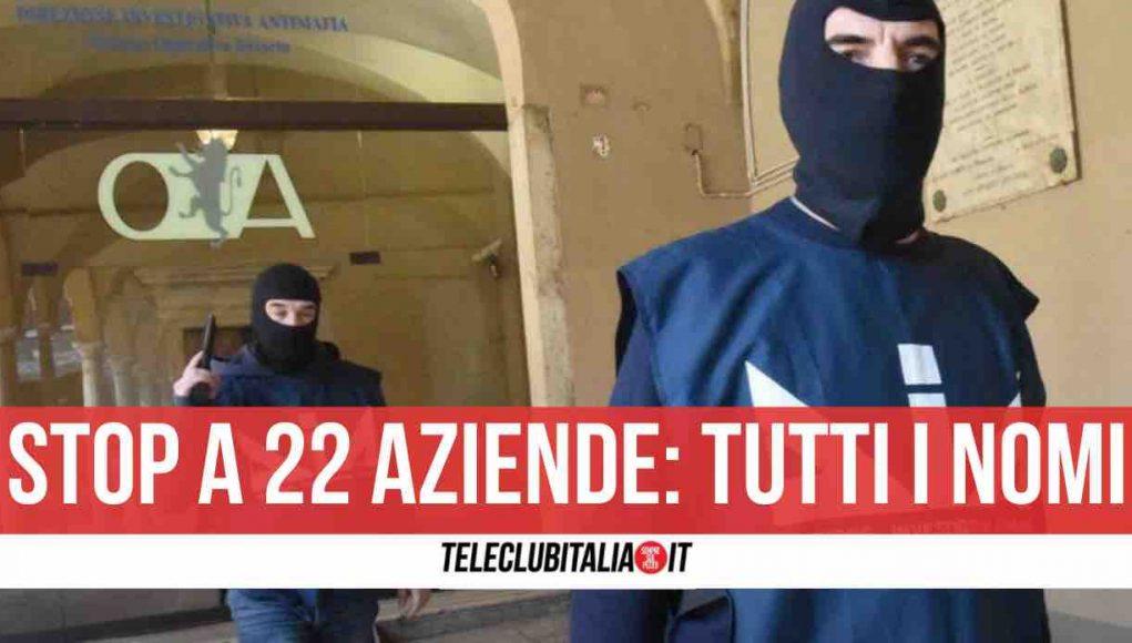 interdittive antimafia giugliano sant'antimo