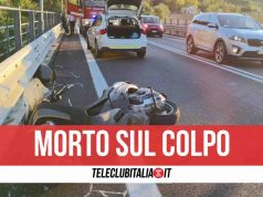 messina incidente morto scooterista