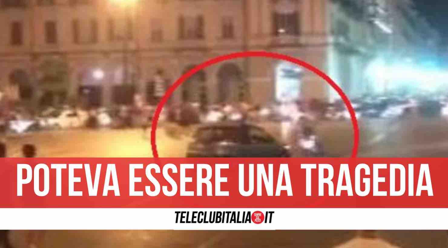 incidente cuneo festeggiamenti italia