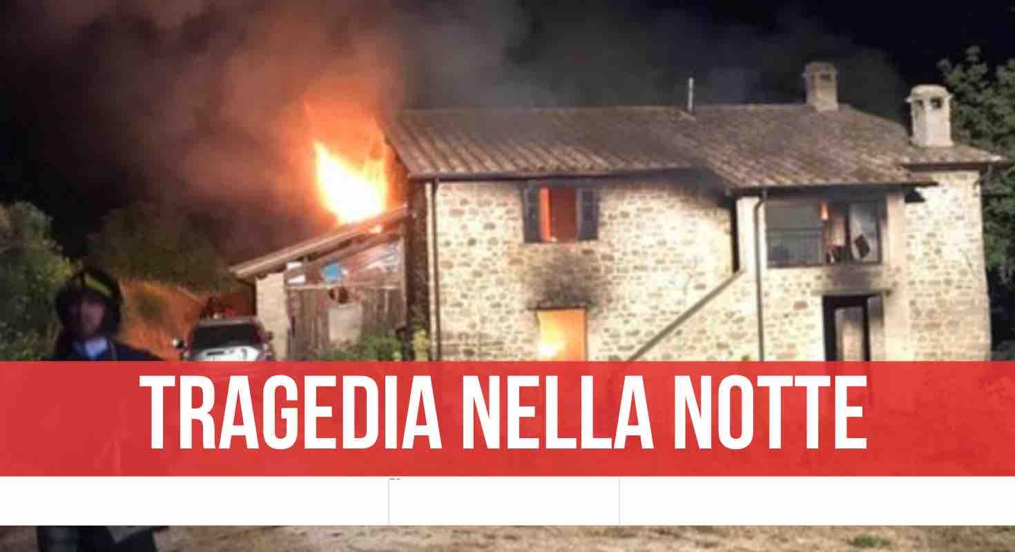 esplode villetta Montemezzo di Valfabbrica