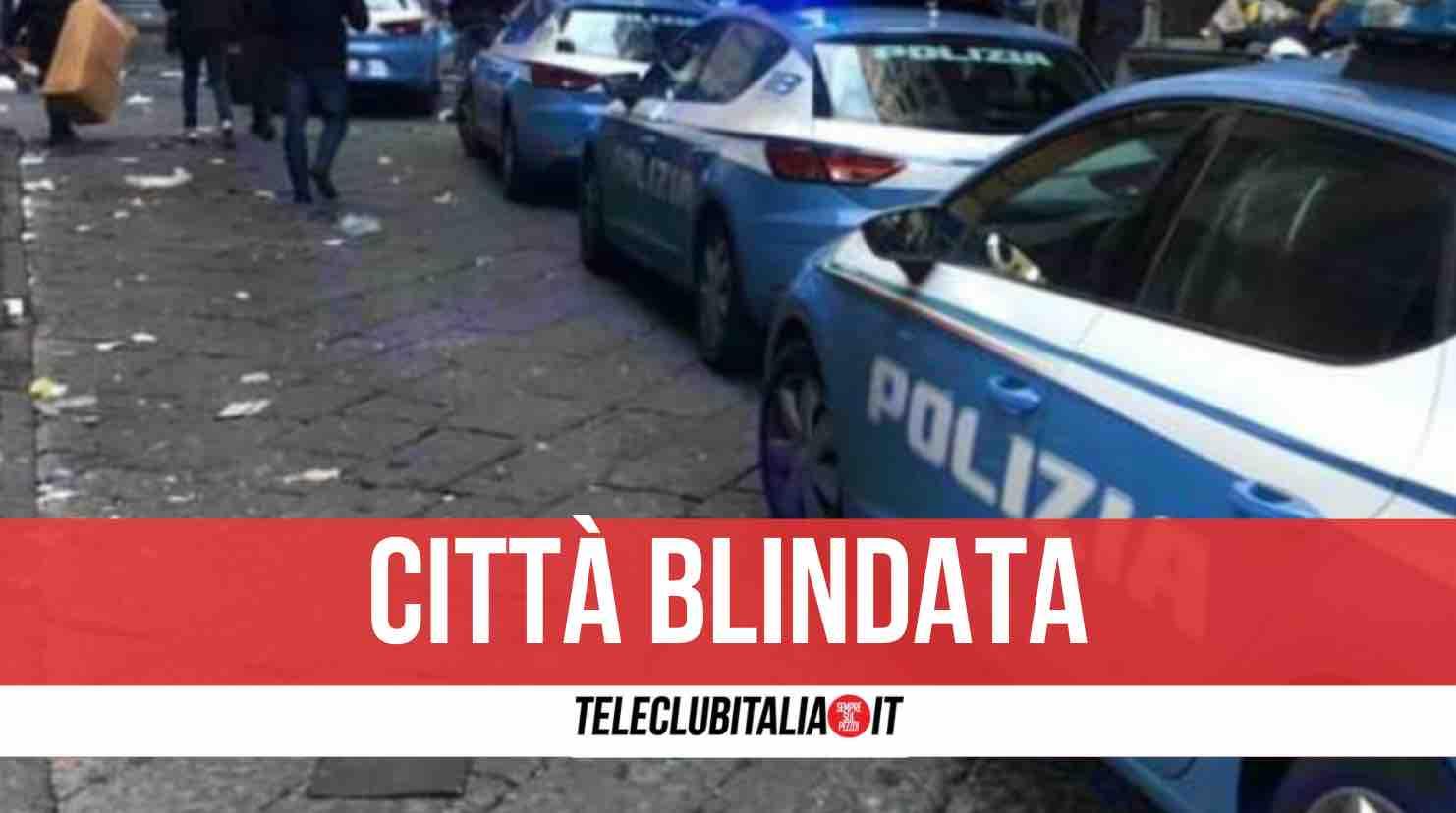 napoli controlli polizia in città