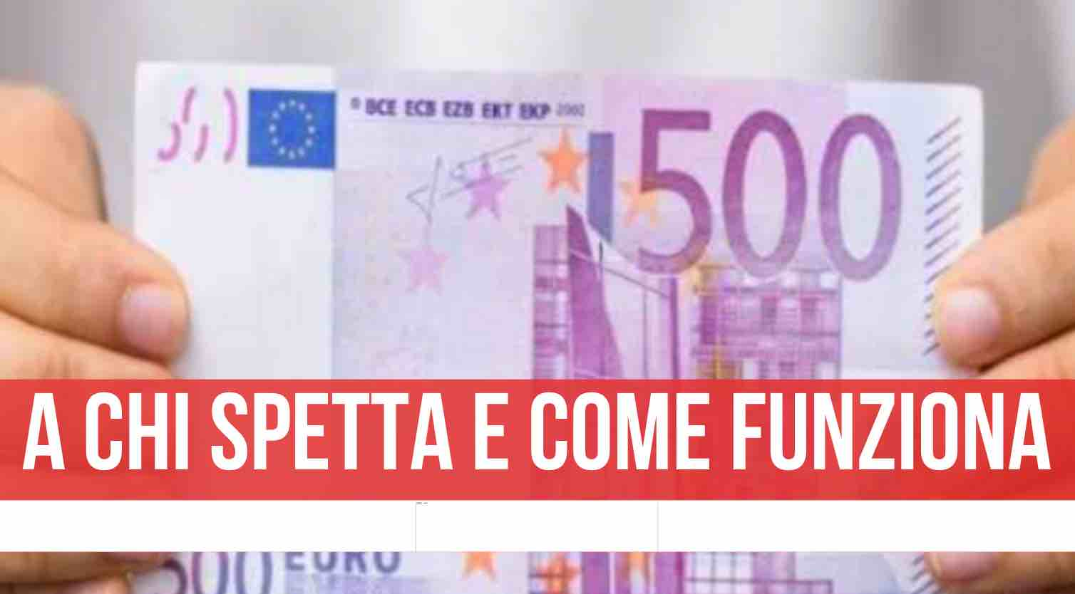 bonus cicogna 500 euro