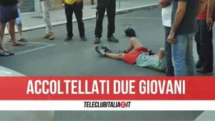 Giugliano, litigio in strada finisce a coltellate: feriti due giovani. Denunciato 17enne