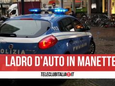 arrestato ladro auto centro direzionale
