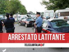 arrestato latitante giugliano campo rom