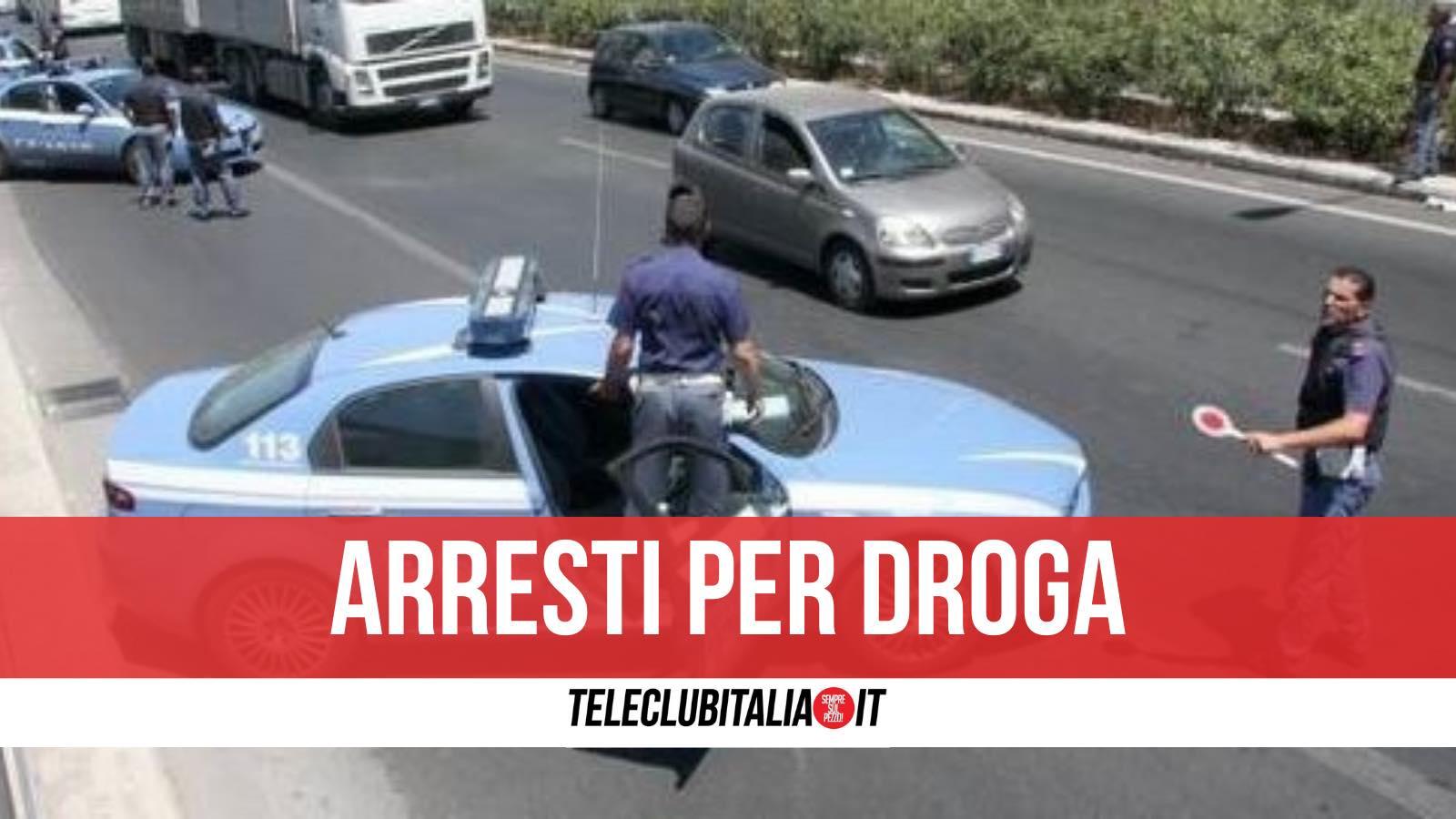 arresti per droga casoria napoli