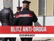 blitz anti droga recale arresti