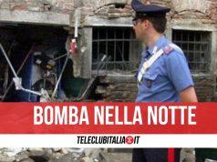 bomba torre annunziata via sambuco
