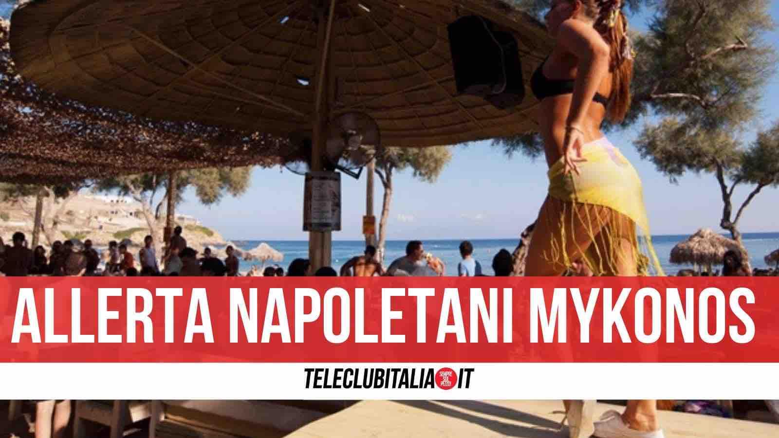contagi mykonos napoletani