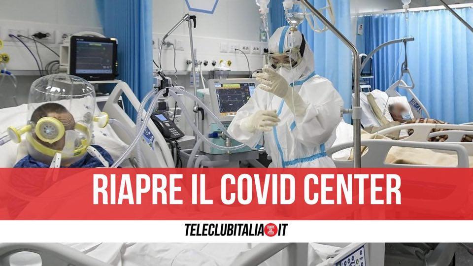 covid center riapertura ospedale del mare