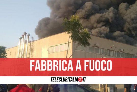 incendio fabbrica san marco evangelista