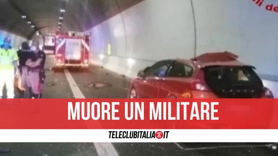 incidente a2 morto militare finanza