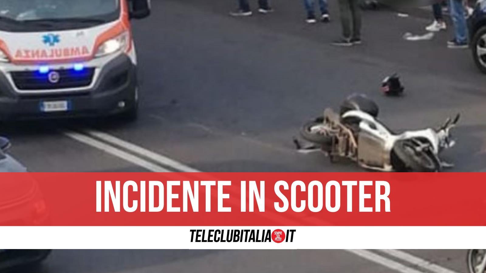 incidente ercolano morto scooter