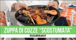 villaricca zuppa di cozze chef Francesco bosso