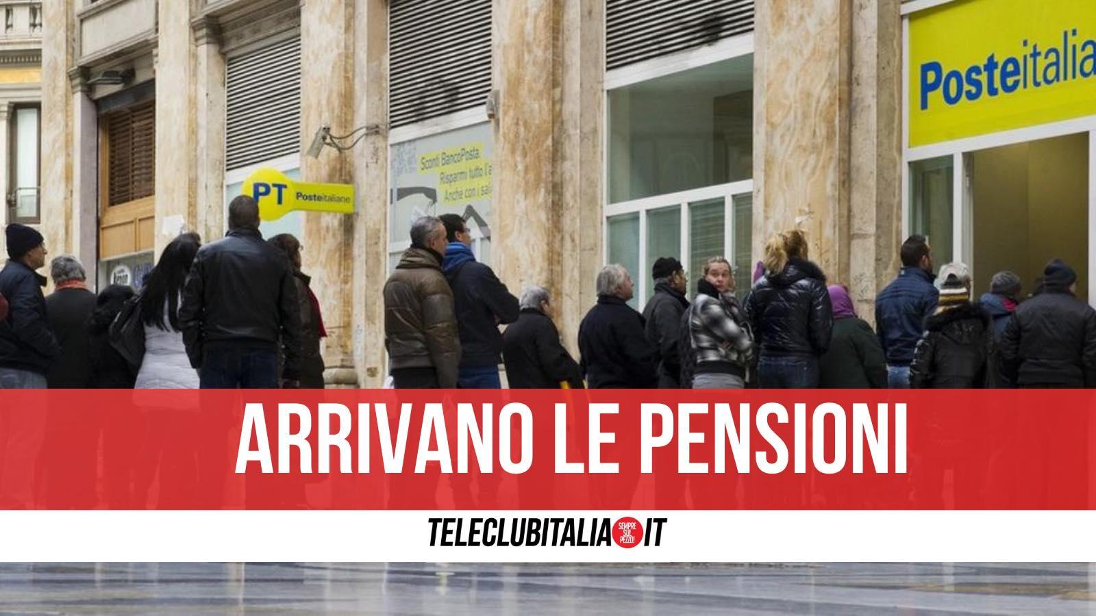pagamento pensioni napoli date