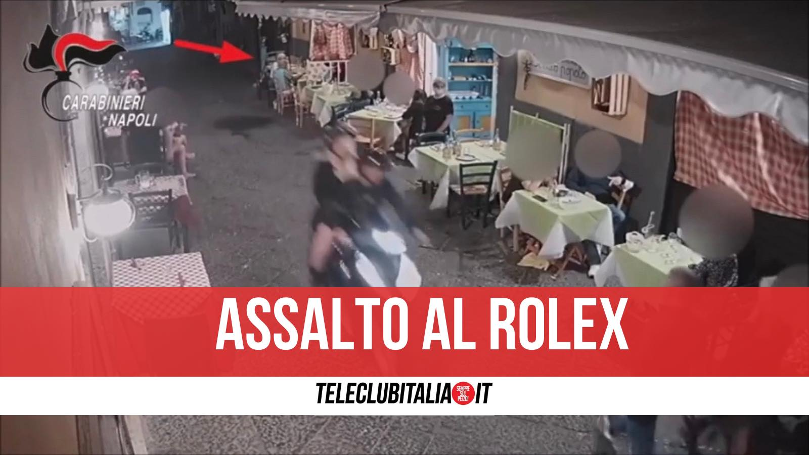 quartieri spagnoli rapinati turisti due arresti